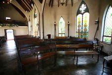 Free Chapel Interior 2 Royalty Free Stock Image - 3329876