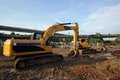 Free Excavator And Backhoe Royalty Free Stock Photography - 33201577