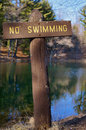 Free No Swimming Sign Royalty Free Stock Image - 33202196