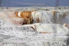 Upper Travertine Falls Stock Image
