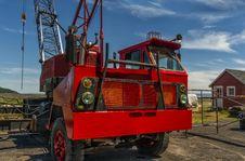 Free Old Crane Royalty Free Stock Photo - 33201145
