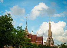 Free Chalong Temple, Phuket, Thailand Stock Photo - 33202150