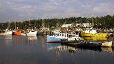 Free Head Harbour Wharf - Campobello Island, N.B. Stock Image - 33204121