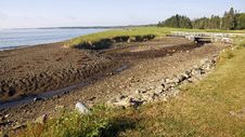 Herring Cove Provincial Park, New Brunswick Stock Photography