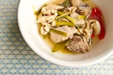 Free Chicken Soup Royalty Free Stock Photo - 33226945