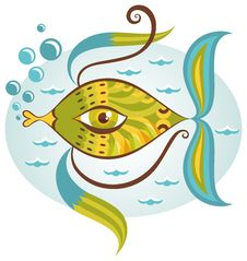 Free Cartoon Sea Fish Royalty Free Stock Images - 33233589