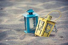 Free Vintage Lanterns Stock Image - 33236671