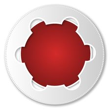 Free Red Abstract Icon Royalty Free Stock Image - 33238516