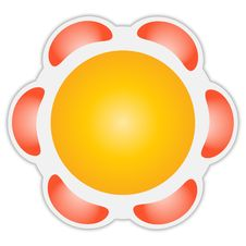Abstract Icon Royalty Free Stock Photo