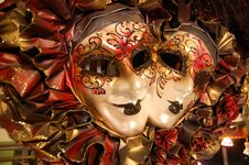 Free Typical Souvenirs In Venice - Venetian Masks Stock Images - 33239244