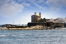 Tabarca Island Stock Photo