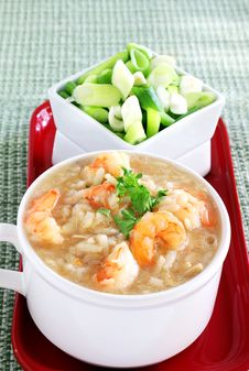 Free Rice And Seafood Soup Royalty Free Stock Photo - 33243705