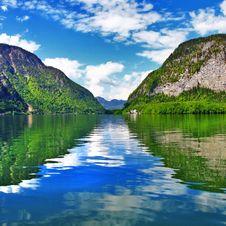 Free Austrian Lakes Stock Image - 33244531