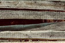 Old Textural Background Wooden Rough Surface Royalty Free Stock Image
