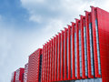Free Modern Red Outer Wall Stock Photo - 33265760