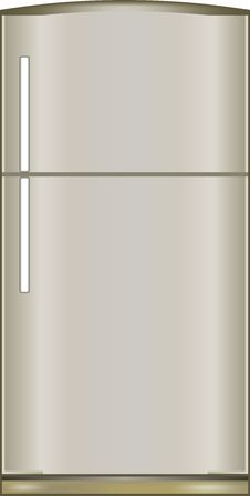 Free Illustration Of A Refrigerator Royalty Free Stock Photo - 33265465