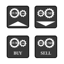 Free Forex Icons Royalty Free Stock Photos - 33268908