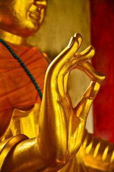 Buddha Hands Royalty Free Stock Images