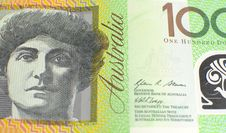 Free Australian Hundred Dollar Note - Close Up Stock Images - 33272594