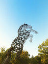 Free Metal Horse Statue Royalty Free Stock Photos - 33288378