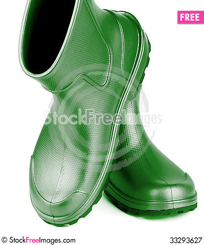 Free Rubber Boots Royalty Free Stock Photography - 33293627
