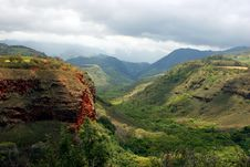 Waimea Canyon Hawaii Royalty Free Stock Image
