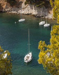 Free Calanques Of Cassis, France Royalty Free Stock Images - 33294469