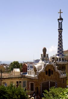 Free Spain. Barcelona. Park Guell. Royalty Free Stock Photos - 33297698