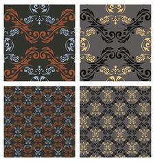 Free Seamless Pattern. Vector Eps10 Stock Photography - 33298302
