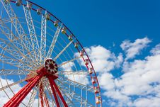 Free Ferris Wheel On Celestial Background Royalty Free Stock Images - 33299689