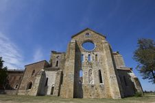 Free Old Abbey In Tuscany Stock Images - 33299724