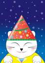 Free Male Cat Celebrate Christmas Royalty Free Stock Photo - 3336855