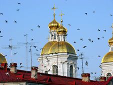The Orthodox Cathedral Royalty Free Stock Images