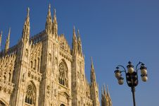 Free Milan Dome Cathedral Stock Photos - 3330613