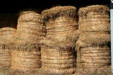 Free Stacked Hay Bales Stock Photo - 3330860