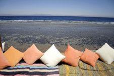 Cushions Sea Resort Restaurant Stock Images