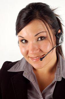 Free Friendly Operator 11 Stock Photos - 3331623