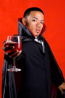 Free Bloody Drink Invitation Royalty Free Stock Photo - 3331625