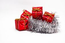 Free Christmas Decoration - Isolate Royalty Free Stock Photography - 3331817