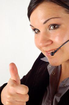 Free Friendly Operator 11 Stock Photos - 3331923