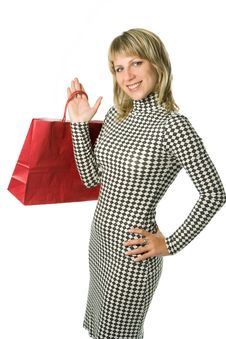 Free Shopping Woman Royalty Free Stock Photos - 3332318