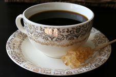 Free Coffee In Antiques Royalty Free Stock Photo - 3332355