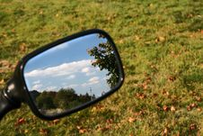 Free Landscape In The Mirror Stock Images - 3332954
