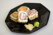 Free Sushi 5562 Royalty Free Stock Photo - 3335715