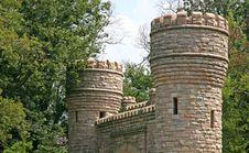 Castle Gates Royalty Free Stock Photo