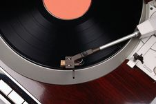 Free Turntable With Record Stock Photos - 3336893