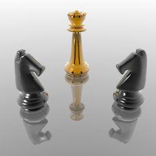 Free Chess Figures Stock Image - 3338981