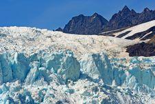 Free Alaska Glacier Field Royalty Free Stock Photo - 3339135