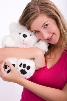 Free Snuggle Stuffed Animal Stock Images - 3339974