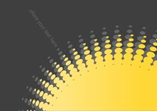 Free Background With Yellow Circles Royalty Free Stock Photos - 3339998